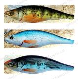 Прикорм рыболовства верхней ранга ранга пластичный--UV Coated Minnow подныривания (HW007)