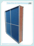 Condensatore della bobina dell'aletta del tubo di rame/radiatore di alluminio blu (STTL-4-12-1000)
