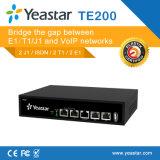 LAN & Wan Gateway VoIP Pri apoyaron 1/2 E1/T1/J1 Gateway puertos