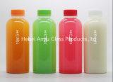 250ml 500ml frasco de vidro de 1 L de suco de frutas e bebidas/ /água do leite