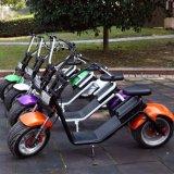 De nieuwste Elektrische Autoped van Harley van het Lithium van de Autoped 1200W van de Motorfiets van Coco van de Stad van het Ontwerp 60V
