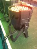 luzes da PARIDADE da cor da mistura de 6PCS/54 x de 3W para a luz do estágio do partido do disco da luz da música da lâmpada do partido do clube