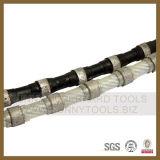 Quarry Profiling Block Cutting Rubber Coat Spring Fixing Plastic를 위한 다이아몬드 Wire Saw