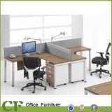 Poste de travail de personnel de partition de boîtier de bureau avec le Module remplissant