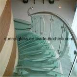 明るいガラスからの6.38mmの安全によって和らげられる薄板にされたガラス
