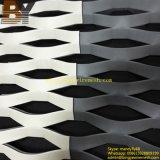 Покрынная порошком расширенная ячеистая сеть сетки металла Perforated