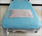 A mesa de exame montado descartáveis Nonwoven leito cirúrgico tampa de folhas