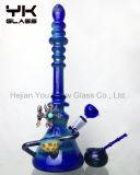 Tubos de aceite de tubo de fumar de vidrio grande con tubería de agua alta