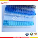 Cor de plástico leve Folha oca de policarbonato (YM-PC-035)