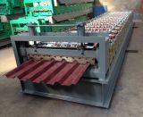 Hoja de Metal de la presión hidráulica Panel del techo de la Junta alzada enrolladora