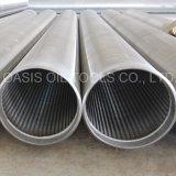 Type pipe de Johnson de filtre pour puits de l'eau