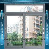 Schiebendes Aluminiumfenster mit Wärme u. fehlerfreier Isolierung