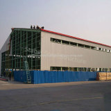 Atelier léger de structure métallique de construction de bâti en métal avec l'envergure de longue vie