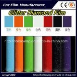 華麗なダイヤモンドのフィルム、真珠色のダイヤモンドの車体のビニールの付着力のビニールのフィルム