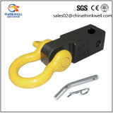 Recuperação Trailer Hitch Receiver Shackle D Ring Mounted