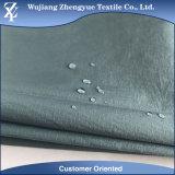 Tela de nylon del tafetán de la arruga impermeable ligera de Ripstop para la ropa