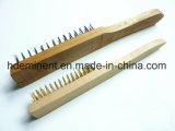 Nuevo diseño de cepillo de alambre redondo cepillo hecho en China