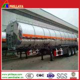 42000L 3semirremolque Tanque de combustible de aluminio del eje