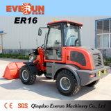 Kompakte Schaufel-Ladevorrichtung der Everun CER anerkannte Maschine-1.6ton