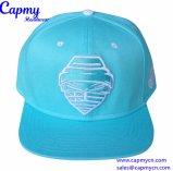 Surtidor 100% del sombrero del casquillo del Snapback de la tela cruzada del algodón en China