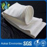 Sacchetto filtro della polvere del feltro dell'ago di 100% PTFE