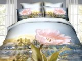 Elegant Flower Printing 3D Bedding Set
