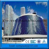 4mm 6mm blauer reflektierender preiswerter Glaspreis