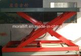 Hidráulica de tijera cabina del ascensor automático con la rotación del levantador