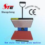 машины давления жары CE 38*38cm печатная машина передачи тепла тенниски машины передачи тепла плоской просто ручная