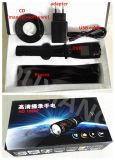 Camera de Op batterijen van het Lichaam van de Politie van de Veiligheidsagent van kabeltelevisie met Flitslicht