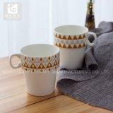 Tasse empilable 10oz de tasse de thé d'impression sèche/café de Liling