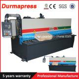QC12y-4*2500mm 시리즈 판금 유압 깎는 기계, E21s를 가진 유압 절단기 가격