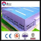 Almacén fabricado de la estructura de acero de la alta calidad (ZY265)