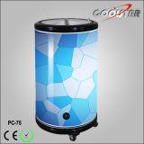 둥근 배럴 Cooler/75L 상업적인 음료 당 냉각기 또는 옥외 Portable는 할 수 있다 냉장고 (PC-75)
