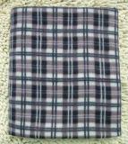 De Deken van de Reis van de polyester met werpt Algemene Pluizig van de Overlapping en Warm