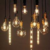 Indicatore luminoso incandescente della lampadina del filamento della candela LED di E27 E14 220V retro