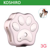 3G WCDMA Pet emplacement GPS tracker
