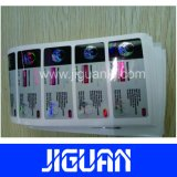Etiqueta livre do tubo de ensaio do projeto 10ml Holorgram para Testapro E 300