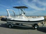 Liya 6.2m Boot van het Jacht van de Visserij van de Vissersboot van de Glasvezel van de Boot van de Rib de Opblaasbare