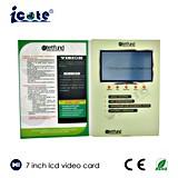 De Prijs van de fabriek! ! ! ! 7 Nieuwe LCD van de duim VideoKaarten met de Hoogstaande, VideoLevering voor doorverkoop van Kaarten