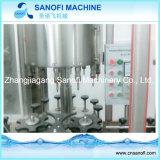 Terminar la pequeña cadena de producción del agua de embotellamiento de la botella