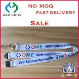 Сплетенная таможня и талрепы полиэфира ключевые с логосом печатание (KSD-971)