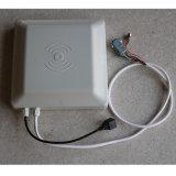 ISO18000-6c 6 medidores de leitor Integrated da identificação RFID Wiegand do veículo da freqüência ultraelevada de Iot