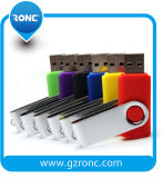Girar o disco flash USB de 8 GB com o logotipo OEM impresso