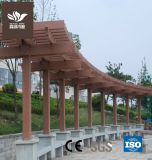 Environmental-Protecting bois composite Pergola de plein air en plastique
