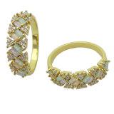 도매 고품질 & 형식 보석 925 은 반지 (R10995)