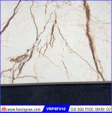 Telha de assoalho Polished da porcelana do mármore cheio do corpo (VRP8F310)