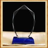 Trofeo cristalino de cristal de encargo de la llama