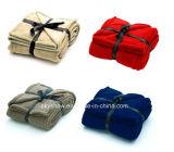 熱い販売は羊毛毛布の投球毛布をカスタム設計する