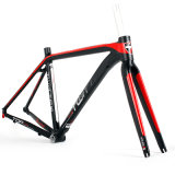 Blocco per grafici di alluminio delle bici di corsa di strada Al7005 con la forcella del carbonio T800